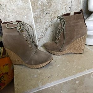Michael Kors Lace-Up Front Ankle Boots/Booties
